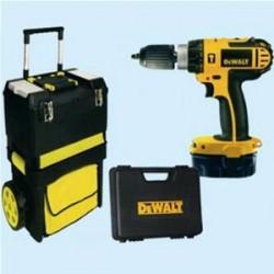 trapano Dewalt DC735KAT 2 batterie 14,4V