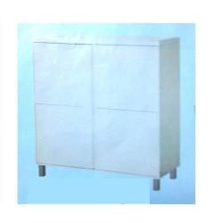 mobile legno lacc.bianco Divina 4ante 100x40x110h