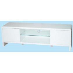mobile porta-tv legno lacc.bianco Divina 150x39x46h