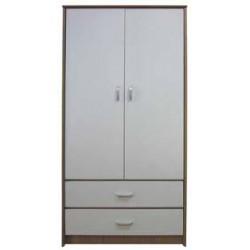 armadio 2ante+2cassetti Sharo 80x47x180h