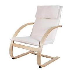 poltrona oscillante Relax beige